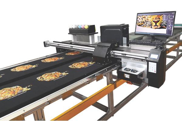 Aura Smart-T-shirt printer